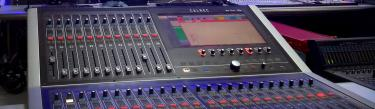 Calrec Brio digital mixing console Shanxi TV